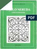 Pablo Neruda Cinco Ensayos
