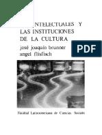 Los Intelectuales y Las Instituciones en La Cultura Cap 7