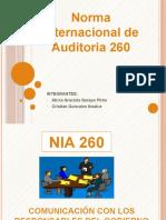 Nia 260 Aula 412 Exposicion