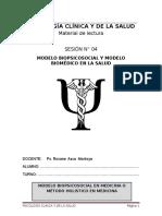 4 Modelo Biomedico y Biopsicosocial