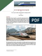 Infopaper 3 High Speed Line Capacity v3
