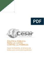 Cesar Politica Pobreza