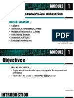 Introduction to MTS-86C Microprocessor Training System