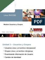 Linux-Usuarios y Grupos