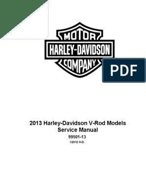 2013 VRSC Models Service Manual | Harley Davidson | Brake