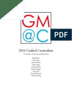 gm c curriculum