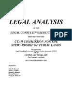 LEGAL ANALYSIS Utah