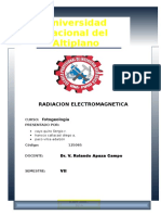 radiacion electromagnetica para estudiantes  de geofisica