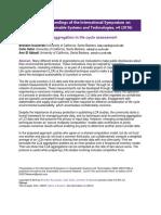 Kuczenski - Privacy Preserving Aggregation in LCA