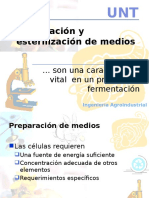 (5)Preparacion y Esterilizacion de Medios.