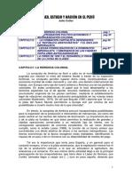 Clases Estado y Nación en El Perú Cotler