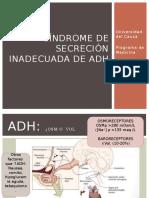 Hiponatremia y SIAD