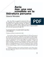 Jose Maria Arguedas Una Voz Imprescindible en La Literatura Peruana