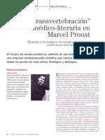 La transvertebración medico-literaria en Marcel proust