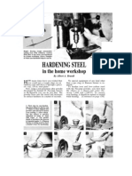 Hardening Steel in the Home Workshop