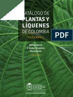 Bernal et al.-2016-Catalogo de Plantas y Liquenes de Colombia-Vol I