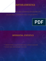 Psy 315 Descriptive and Inferential Statistics PP