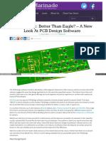 Techmarinade Com 2013 12 Designspark Better Than Eagle a New