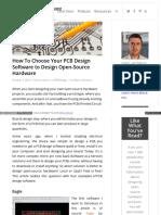 Openhardwarelabs Com Pcb Design Software