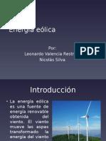 Energía eólica presentación