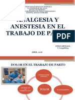 Analgesia y Anestesia en El Parto