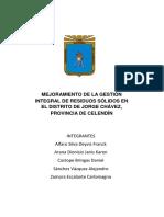 MEJORAMIENTO DE LA GESTIÓN INTEGRAL DE RESIDUOS SÓLIDOS EN EL DISTRITO DE JORGE CHÁVEZ.pdf