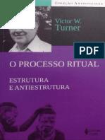 Victor Turner - O Processo Ritual - Liminaridade e Communitas