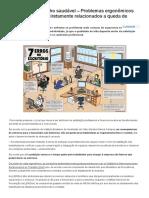 Ambiente de Trabalho Saudável – Problemas Ergonômicos No Trabalho