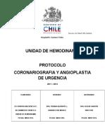Protocolo Coronariografia y Angioplastia de Urgencia (1)