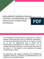Reglamento General Para El Control de Emisiones De