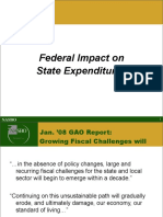 Federal Impact on State Finances