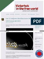 Las 11 Mejores distribuciones de Linux