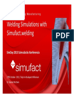 Simufact Welding - Simulating Manufacturing