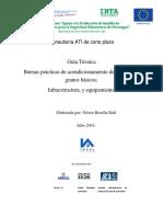 Guia de Infraestructura y Equipos Para Procesar Granos - Nucaragua