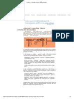 Arquivos & Conceitos_ Valores Dos Documentos