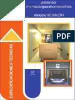 Especificaciones Técnicas MIH-MDH