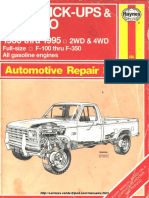 Manual de La Ford Bronco