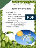 Civicaaaaaaaaaa El Efecto Innvernadero