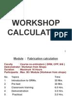 Fabrication Calculation