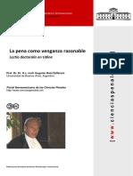 Zaffaroni - La pena como venganza razonable.pdf