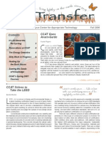 Campus Center for Appropriate Technology Newsletter, Fall 2006