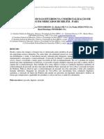 Aspectos Higiênico-Sanitários Na Comercialização de Pescado Em Mercados de Belém - Pará