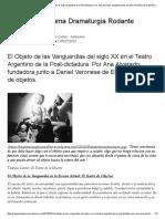El Objeto de Las Vanguardias