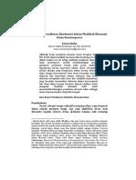 Mapping Pemikiran Akademisi dalam Madzhab Ekonomi Islam Kontemporer