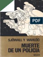 Muerte de Un Policia-Maj Sjöwall-Per Wahlöö