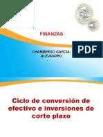 Ciclo de Conversión de Efectivo e Inversiones de Corto Plazo