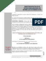 Constitución Política de los Estados Unidos Mexicanos Articulo 3