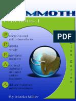 Math Mammoth Fractions 1