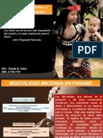 mORTALIDAD MATERNA E INFANTIL EN PANAMÁ