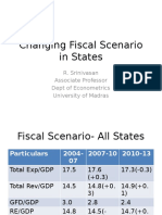 Changing Fiscal Scenario in States